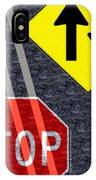 Traffic Signs IPhone Case