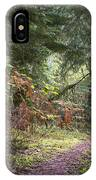 Trail In The Forest IPhone Case