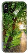 Trail Into Sunset IPhone Case