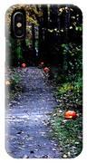 Trail Of 100 Jack-o-lanterns IPhone Case