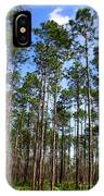 Trail Through The Pine Forest IPhone Case