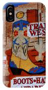 Trail West Mural IPhone Case