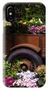 Trailer Full Of Flowers IPhone Case