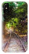 Trails Of Tracks IPhone Case