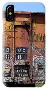 Train Car Graffiti 1 IPhone Case