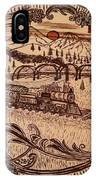 Train Is A-comming IPhone Case