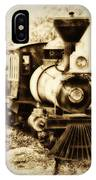 Train Keeps A Rolling IPhone Case
