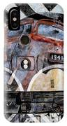 Train Mural IPhone Case