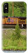 Train The Flags IPhone Case