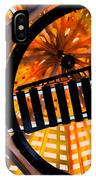 Train Track Abstract IPhone Case