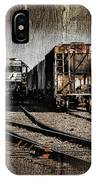 Train Yard IPhone Case