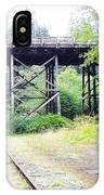 Trains Over And Under IPhone Case