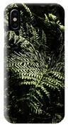 Tranquil Botanical Ferns IPhone Case