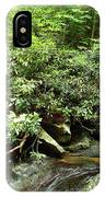 Tranquil Mountain Laurel Stream In The Great Smoky Mountains National Park IPhone Case