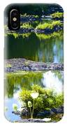 Tranquil Pond IPhone Case