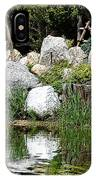 Tranquility In The Japanese Garden IPhone Case