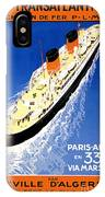 Transatlantic Ocean Liner IPhone Case