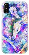 Transcendent Greyhounds IPhone Case