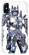 Transformers Optimus Prime Or Orion Pax Graphic  IPhone Case