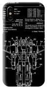 Transformers Patent - Black And White IPhone Case