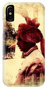 Travel Exotic Headgear Waiter Portrait Mehrangarh Fort India Rajasthan 2a IPhone Case