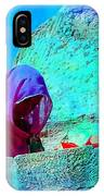 Travel Exotic Woman On Ramparts Mehrangarh Fort India Rajasthan 1e IPhone Case