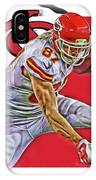 Travis Kelce Kansas City Chiefs Oil Art IPhone Case