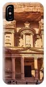 Treasury Of Petra In Color IPhone Case
