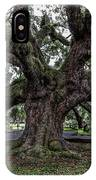 Treaty Oak 12 14 2015 027 IPhone Case