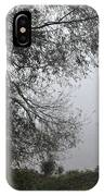 Tree And Moored Boat IPhone Case