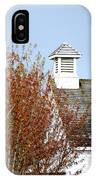 Tree And School House 795 IPhone Case