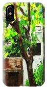 Tree And Shade IPhone Case