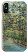 Tree Arched Road IPhone Case