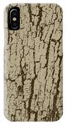 Tree Bark Texture Brown IPhone Case