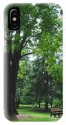 Tree Bench IPhone Case