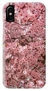 Tree Blossoms Pink Blossoms Art Prints Giclee Flower Landscape Artwork IPhone Case