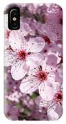 Tree Blossoms Pink Spring Flowering Trees Baslee Troutman IPhone Case