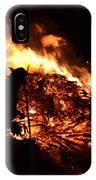 Tree Burning IPhone Case