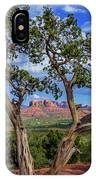 Tree Captures Sedona IPhone Case