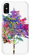 Tree-colorful IPhone Case