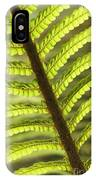 Tree Fern Frond IPhone Case