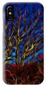 Tree Glow In The Dark IPhone Case