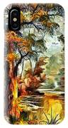 Tree Impression IPhone Case