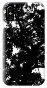 Tree In Black And White IPhone Case