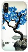 Tree In Blue IPhone X Case