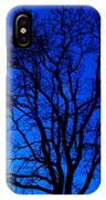 Tree In Blue Sky IPhone Case by Silvia Ganora