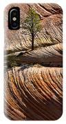 Tree In Flowing Rock IPhone Case