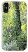 Tree In Garden IPhone Case