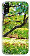 Tree In Spring IPhone Case