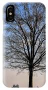 Tree In The Morning Light IPhone Case